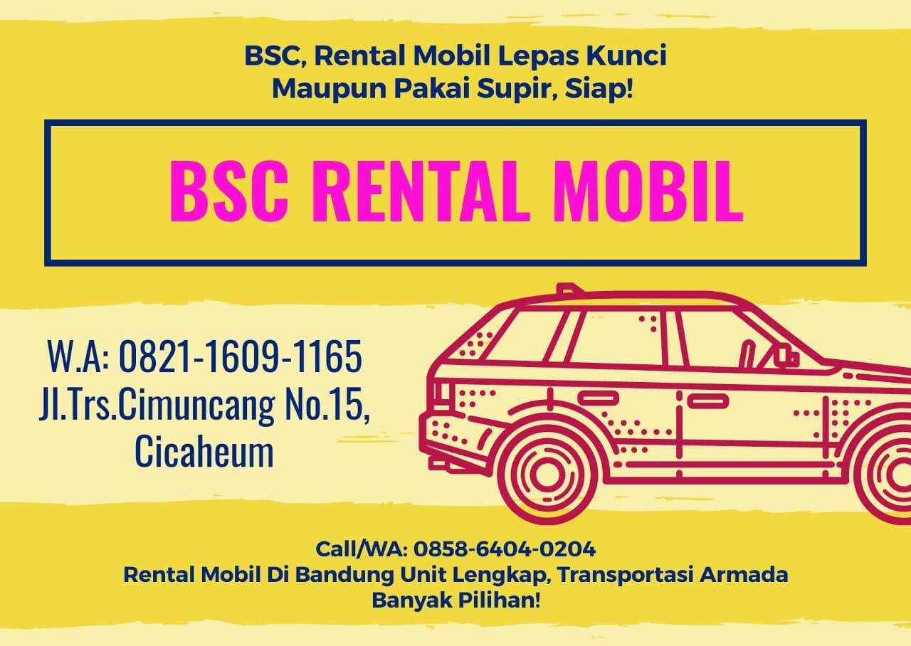 Rental Mobil Lepas Kunci Termurah di Bandung