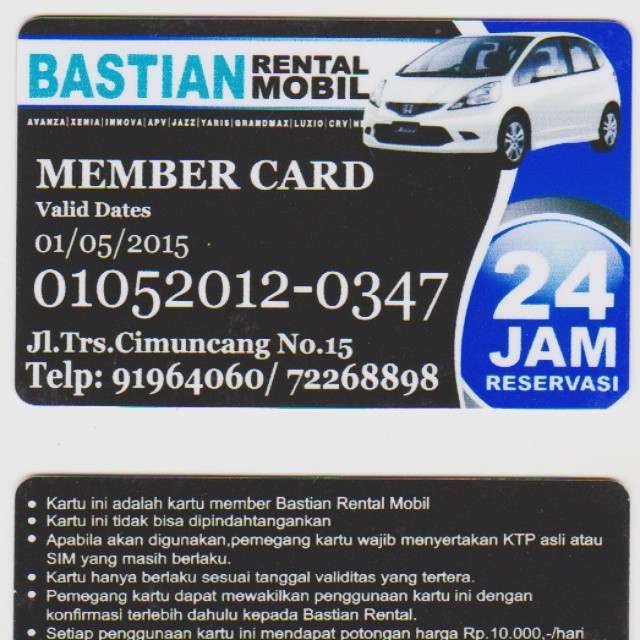Jadilah Member BSC Rental Mobil.